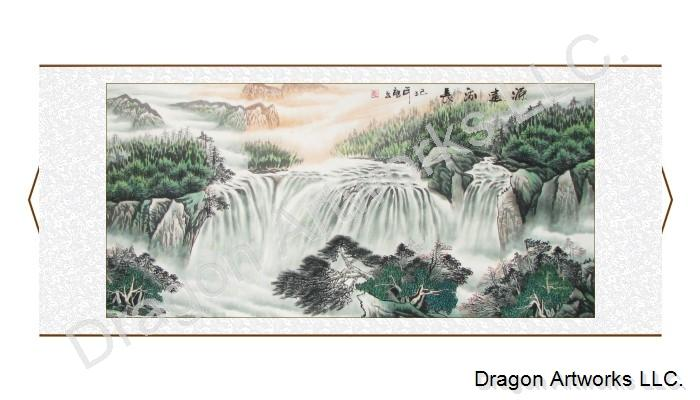 Breath-Taking Chinese Landscape Painting