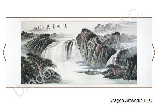 Chinese Landscape Scroll Painting Chinese Landscape Painting